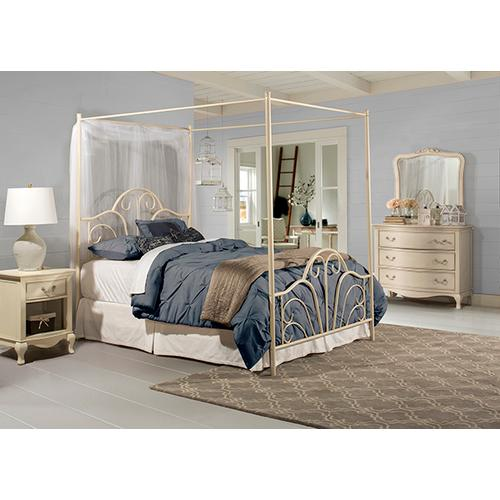 Product Image - Dover King Bed Set - Cream