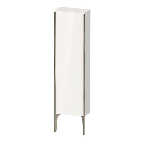 Duravit - Semi-tall Cabinet Floorstanding, White High Gloss (decor)