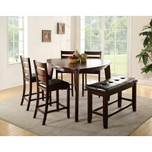 Eli Triangular Counterheight Pub Table Set