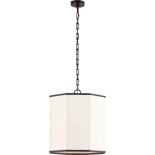 AERIN Niles2 4 Light 18 inch Bronze Hanging Shade Ceiling Light