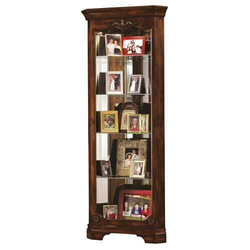 Howard Miller Constance Corner Curio Cabinet 680404