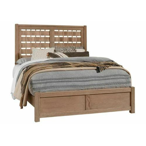 Queen - Horizontal Weave Bed