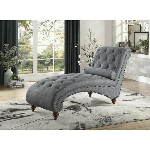 Gallery - Chaise with Nailhead and Pillow