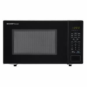 Sharp1.1 cu. ft. 1000W Sharp Countertop Black Microwave