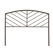 Essex Twin Metal Headboard Without Frame, Metallic Brown