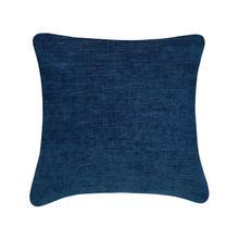 Chevon Cushion - Dark Blue / 100% Duck Feather