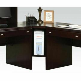 ACME Cape Corner Desk - 92033 - Espresso