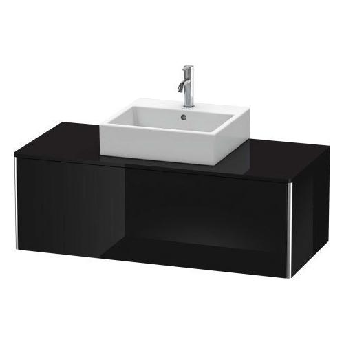 Duravit - Vanity Unit For Console Wall-mounted, Black High Gloss (lacquer)