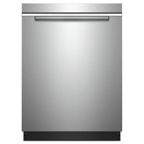 Whirlpool - Stainless Steel Tub Pocket Handle Dishwasher with TotalCoverage Spray Arm