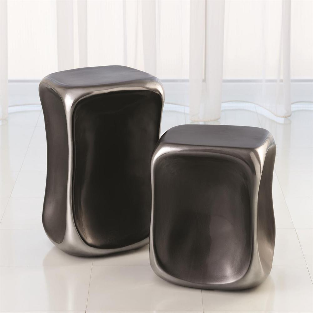 See Details - Formation Accent Table-Black/Platinum-Lg