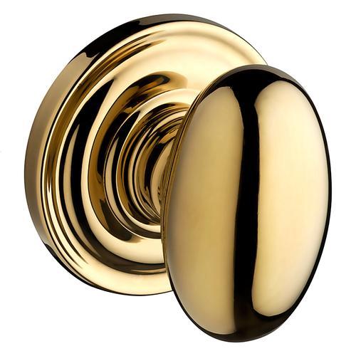 Polished Brass Ellipse Reserve Knob