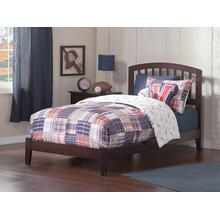 Richmond Twin XL Bed in Espresso