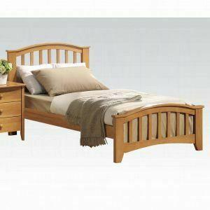 ACME San Marino Twin Bed - 08940T_KIT - Maple