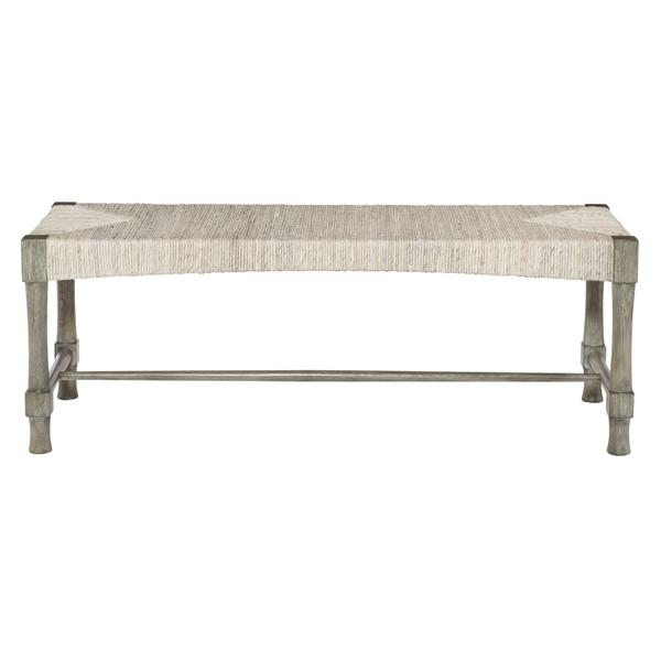 Palma Bench in Rustic Gray