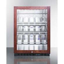 "24"" Wide Single Zone Built-in Commercial Wine Cellar"