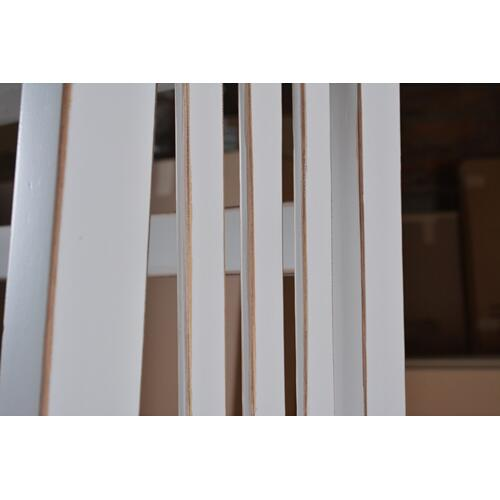 Horizon Home Furniture - Varsity 72'' White Bookcase