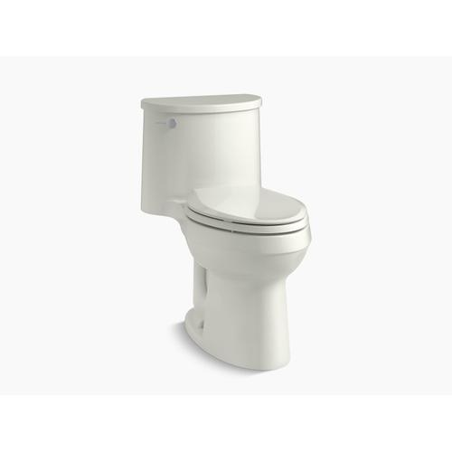 Dune One-piece Elongated 1.28 Gpf Chair-height Toilet With Quiet-close Seat