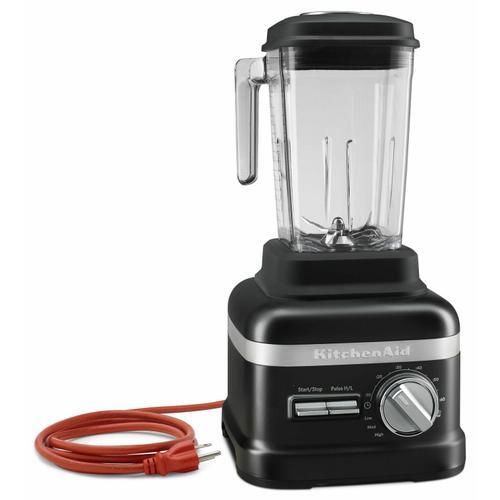 Gallery - NSF Certified® Commercial Beverage Blender with 3.5 peak HP Motor - Black Matte
