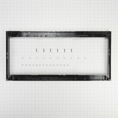 Maytag - Built-In Low Profile Microwave Slim Trim Kit with Pocket Handle, Stainless Steel