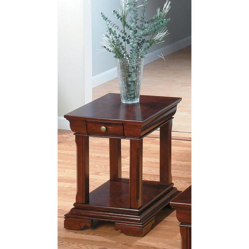 End Table W/ Shelf and Drawer