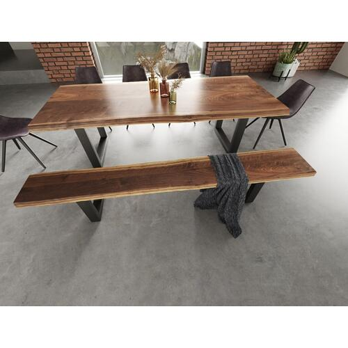 VIG Furniture - Modrest Taylor - X-Large Modern Live Edge Dining Bench