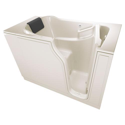 Gelcoat Premium Series 30x52-inch Walk-In Bathtub with Air Spa System  American Standard - Linen