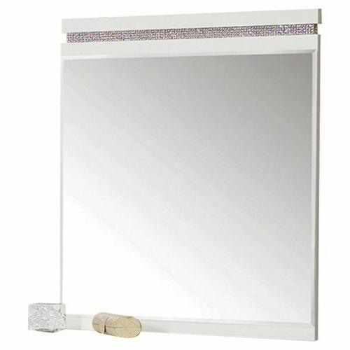 ACME Valentina Mirror - 20254 - White High Gloss