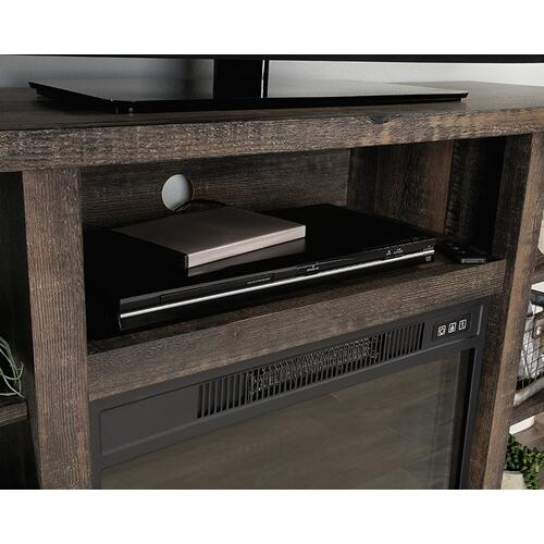 Sauder - TV Console with Storage & Electric Fireplace