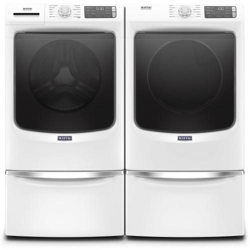 Maytag - Front Load Washer with Extra Power and 16-Hr Fresh Hold® option - 4.8 cu. ft.