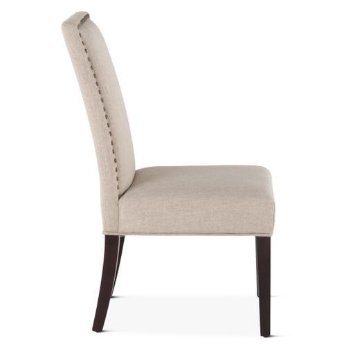 Jones Dining Chair Beige with Dark Legs