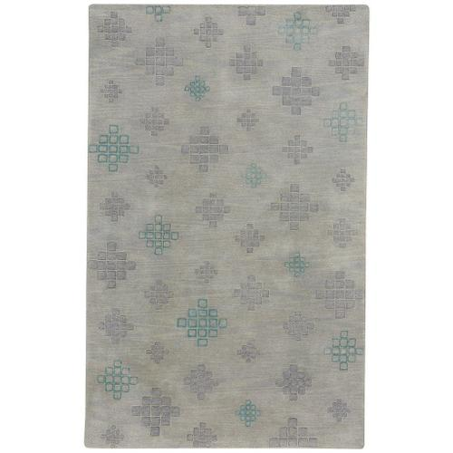 "Glace Silver Grey - Rectangle - 3'3"" x 5'3"""