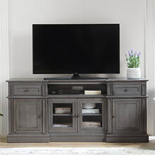 72 Inch Console - Cloud Gray Finish