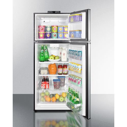 "Summit - 24"" Wide Break Room Refrigerator-freezer"