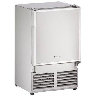 """14"""" Crescent Ice Maker With Stainless Solid Finish (115 V/60 Hz Volts /60 Hz Hz)"""