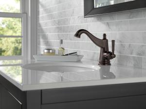 Venetian Bronze Single Handle Bathroom Faucet Product Image