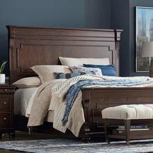 King/Provence Brandy Provence Panel Bed