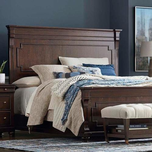 Cal King/Provence Brandy Provence Panel Bed