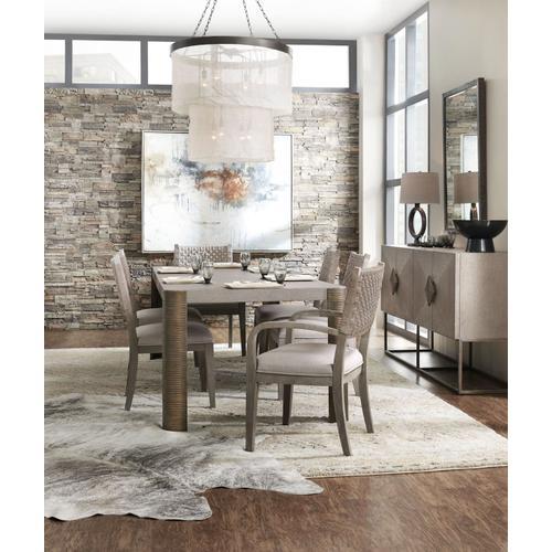 Dining Room Miramar Carmel Rosetti 82in Rectangle Dining Table w1-20in Leaf