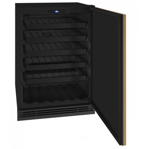 "U-Line - Hwc124 24"" Wine Refrigerator With Integrated Solid Finish (115v/60 Hz Volts /60 Hz Hz)"