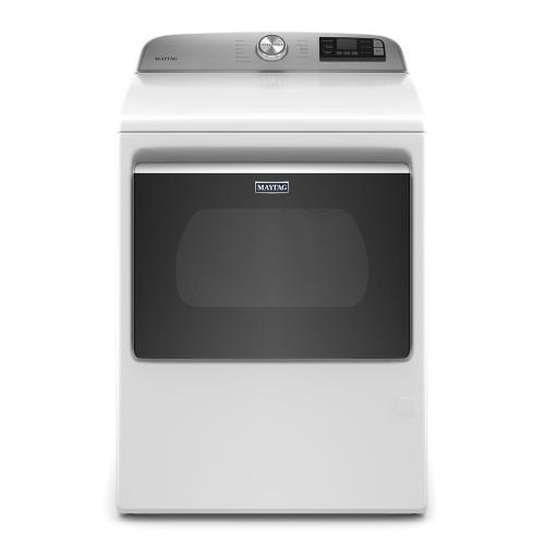 Smart Capable Top Load Gas Dryer with Extra Power Button - 7.4 cu. ft.