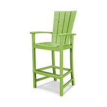 View Product - Quattro Adirondack Bar Chair in Lime