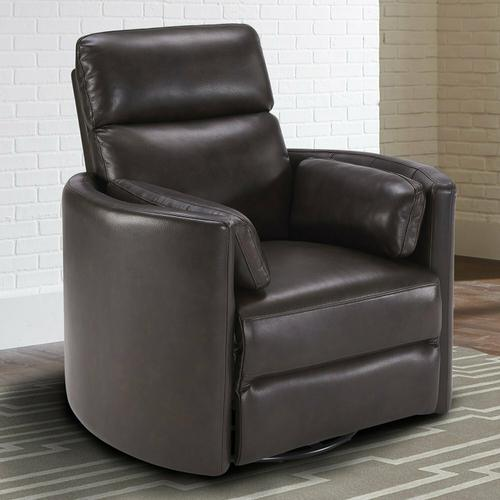 Parker House - RADIUS - FLORENCE BROWN - Powered By FreeMotion Power Cordless Swivel Glider Recliner