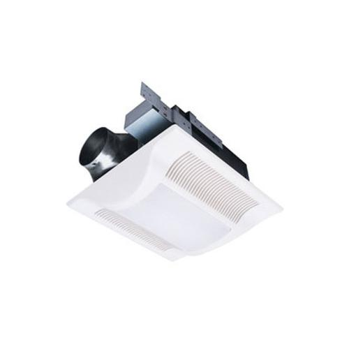 WhisperFit-Lite 110 CFM Low Profile Ceiling Mounted Fan with Light