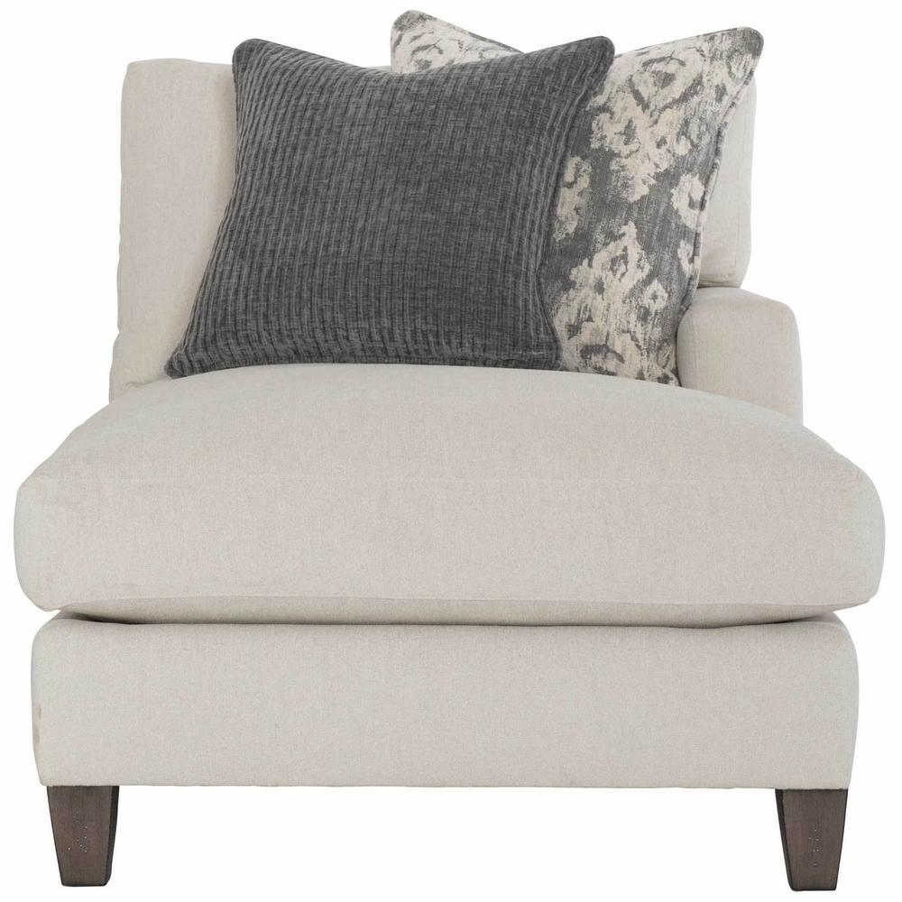 Mila Right Arm Chaise in Aged Gray (788)