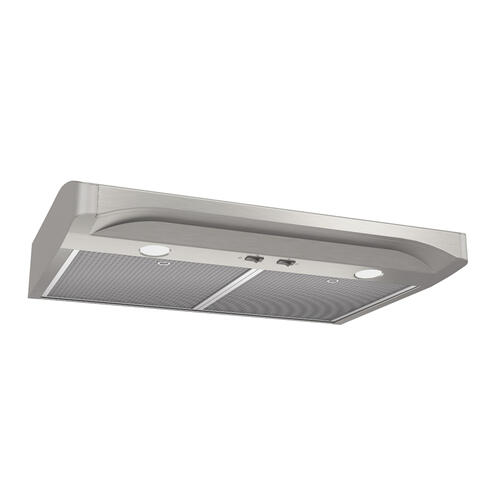 Broan® Elite 30-Inch Convertible Under-Cabinet Range Hood, Stainless Steel