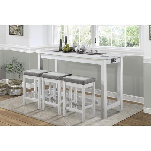 Gallery - 4-Piece Pack Counter Height Set