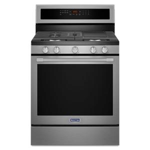 30-Inch Wide Gas Range With True Convection And Power Preheat - 5.8 Cu. Ft. -