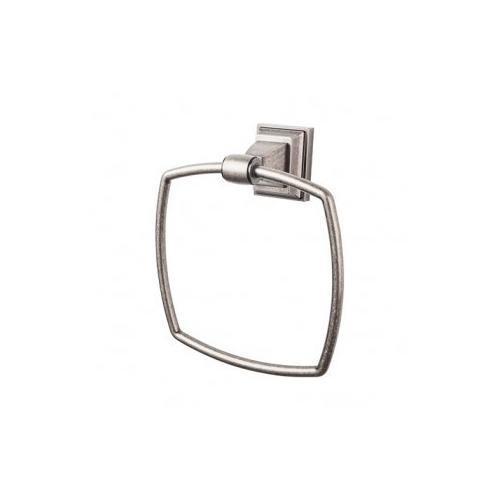Top Knobs - Stratton Bath Ring - Antique Pewter