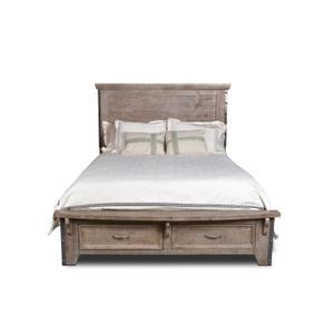 Horizon Home FurnitureUrban Rustic Gray King Bed