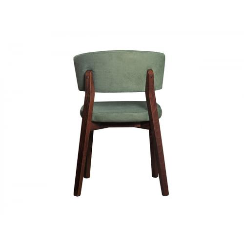 Gallery - Modrest Legacy - Modern Green Fabric Dining Chair (Set of 2)